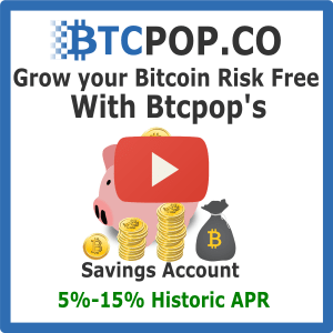 Btcpop's Bitcoin Savings Account
